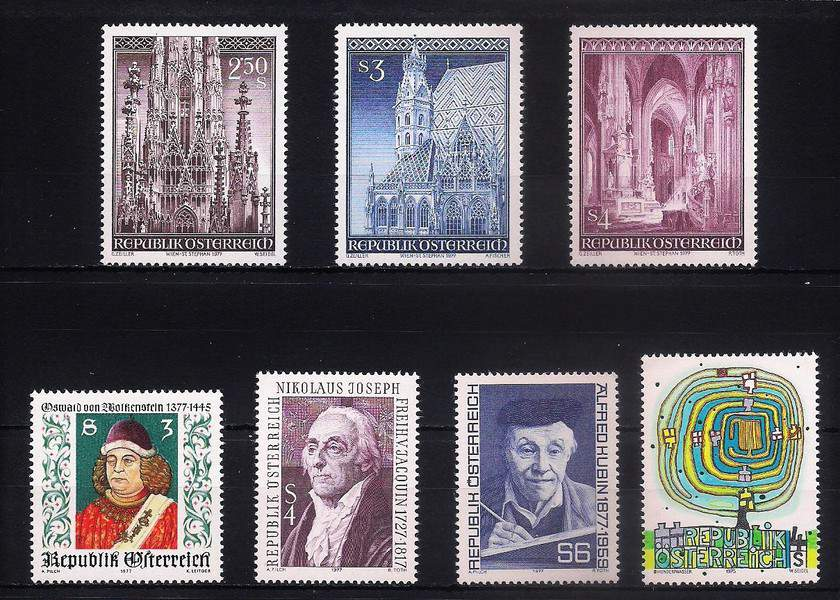 Austria MNH mix LOT 1 (16 stamps)