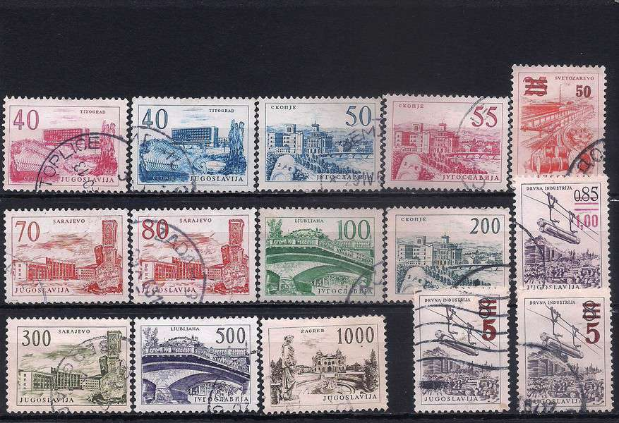 Yugoslavia definitives – Technology and Architecture