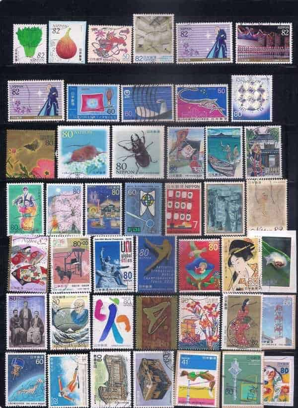 Japan used stamps LOT