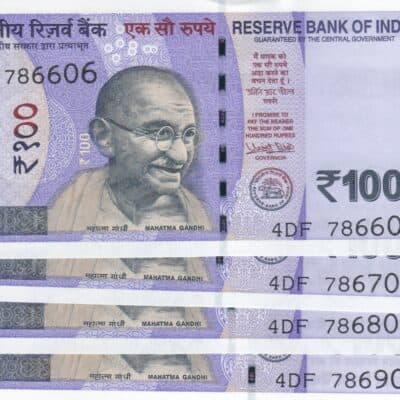 9 PCS 100RS 2018 STARTING HOLY NO 786 WITH FANCY N0 101-201-301-401-501-601-701-801-901 UNC