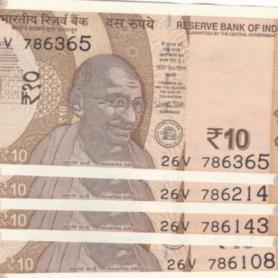 10 rs 9 note all starting 786 with fancy no 108-143-214-365-420-541-687-786786-916