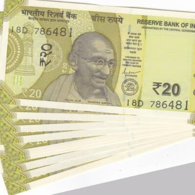 19 NOTE 20 RS STARTING HOLY NO 786 SERIAL NO 786491 TO 786499