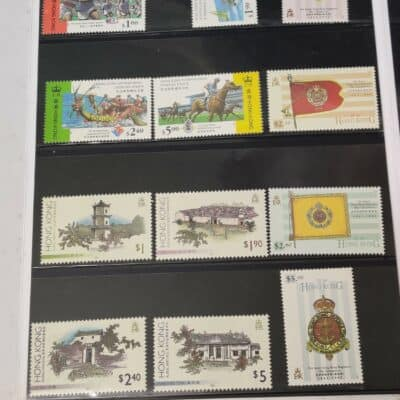 CHINA HONG KONG STAMPS 1995