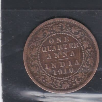 EDWARD ONE QUARTER ANNA VII MIX YEAR 1903 TO 1911