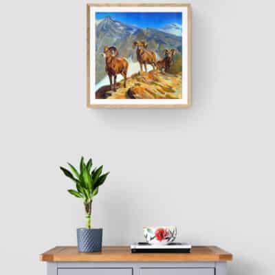 Mountain Goats by Meera Mohan