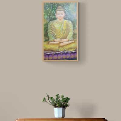 Buddha by Meera Mohan