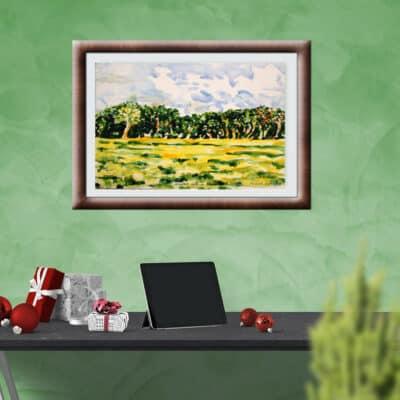 Mustard Field by Pronab Kumar Baruah