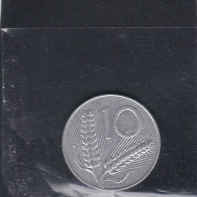Italy 10 lire, 1975 UNC