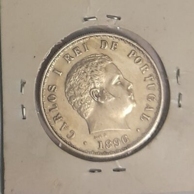 500 Reis Indo Portugal coin