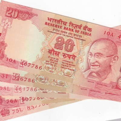 10Rs 20Rs 50Rs (3 notes) Ending Holy No. 786 GEM Mix Year SIGN D MUBARAK