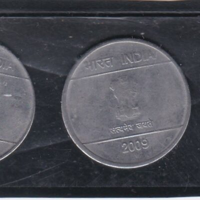 1 RS 3 Different Coins New 2008, 2009 and2010