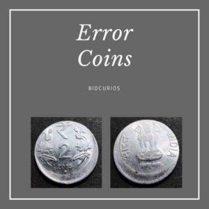 Error - Coins