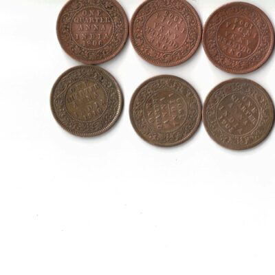8 COIN SET EDWARD USED XF CONDITION 1903 TO 1910