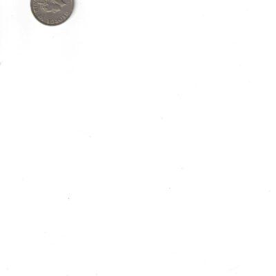 KING GEORGE VI 1947 LASTISSUED AUNC COIN