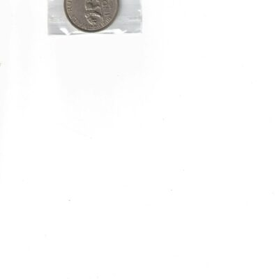 KING GEORGE VI 1/2 RUPEES COIN AUNC