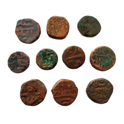 Indian Sultanates coin lot 10 coins