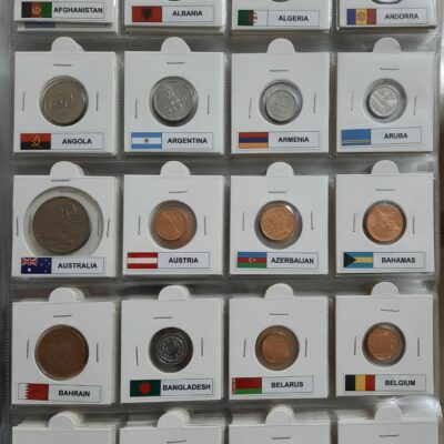 200 Different Coins from 200 Different Countries