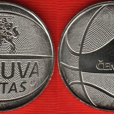 Lithuania 1 Litas Commemorative Issue UNC 2011