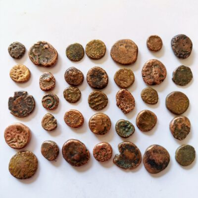 South Indian coins lot of 30 coins (2685)