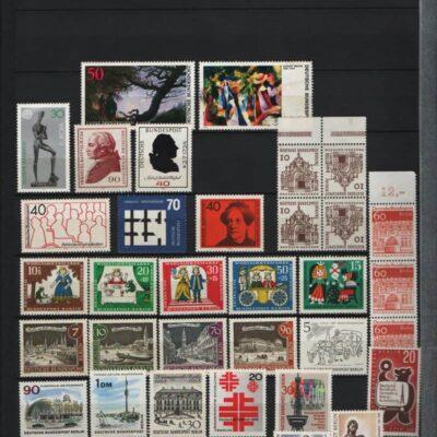 Germany Deutsche Bundespost MNH lot