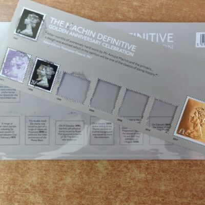 50th Anniversary of Machin presentation packs