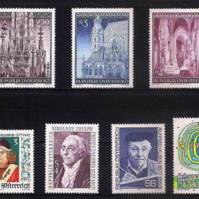 Austria MNH mix LOT 1 (16 stamps)