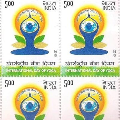 India 2015 International Yoga Day Full sheet