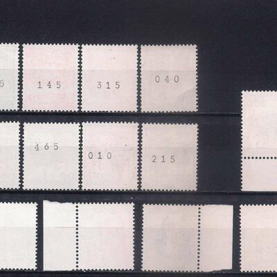 Germany 1977-81 Palaces and Castles MNH
