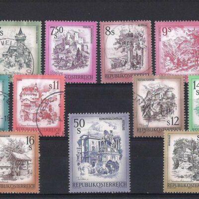 Austria 1973 – 1983 Definitives – Landscapes