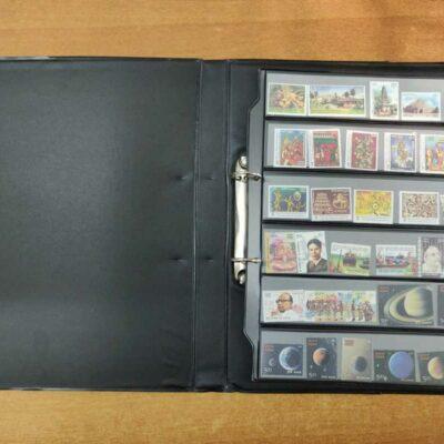 India 2018 stamp pack with album