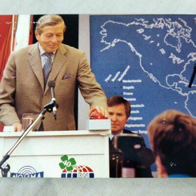 Radio Netherlands QSL Card 21 Jul 1987