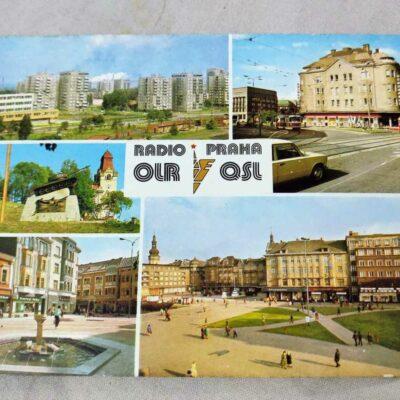 Radio Prague QSL Card 5 Sep 1987