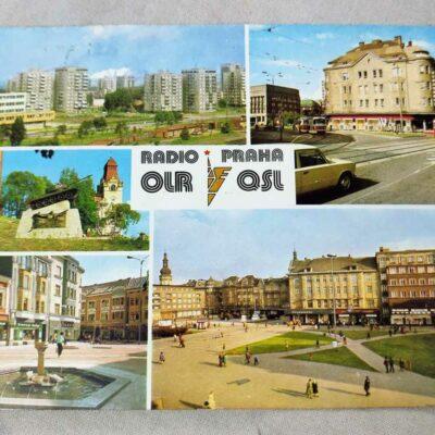 Radio Prague QSL Card 24 Jun 1987