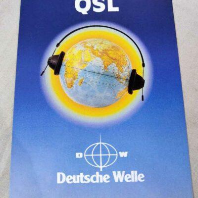 Deutsche Welle QSL card Mumbai