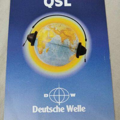Deutsche Welle QSL card