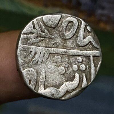 MEWAR state silver rupee crude