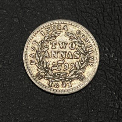 Victoria Queen Divided Legend 2 Anna Madras mint