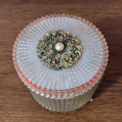 Antique musical revolving jewellery box made in Japan