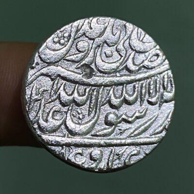 SHAHJAHAN Silver rupee