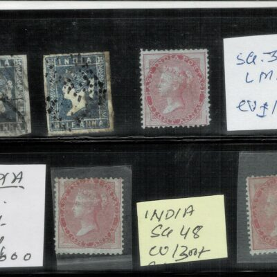INDIA 1854 TO 1937 VERY FINE LOT HUGE CV 20000+ GBP