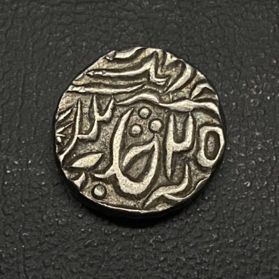 Chattarpur state silver rupee