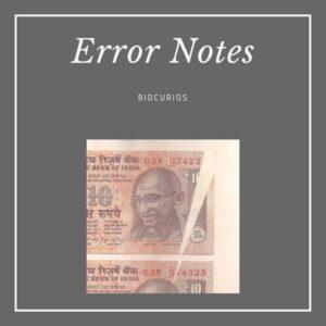 Error Notes