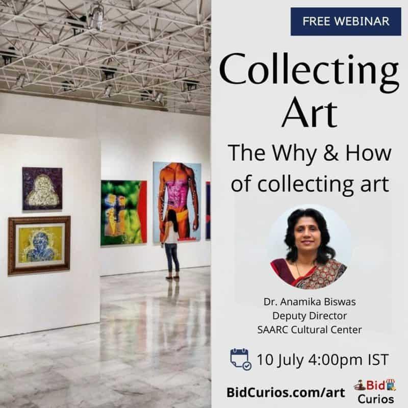 Free webinar on collecting art