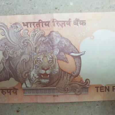 10 Rupees note 2016 Sign Raghuram Rajan
