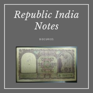 Republic of India Bank Notes
