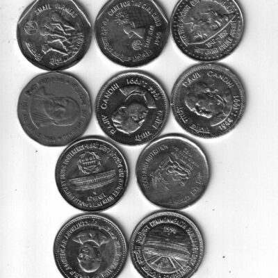 20 COIN 1 RS AND 2 RS ALL DIFFRENT COIN XF CONDITION