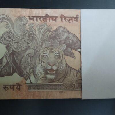 Rs 10 Bundle Old Issue Signature Raghuram Rajan Year 2014