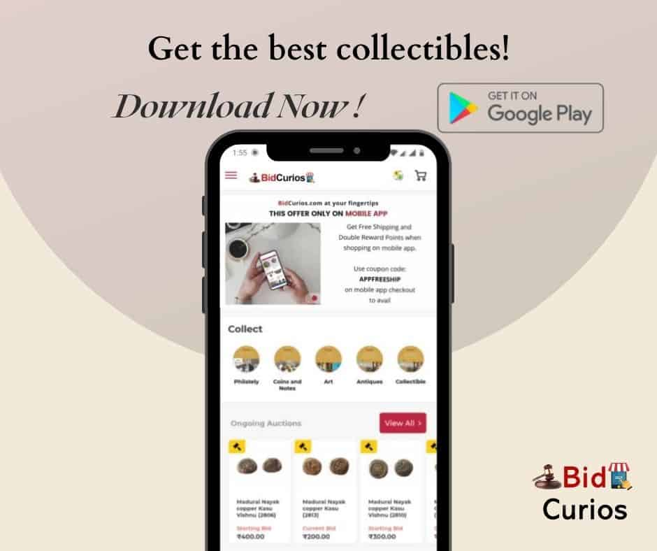 Get the BidCurios Android Mobile App