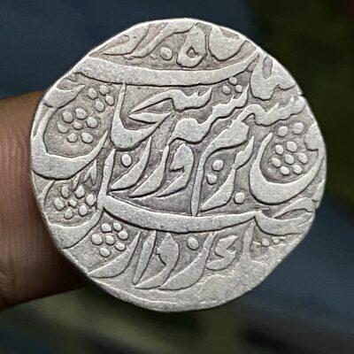 Shuja al Mulq Durrani, kashmir mint rupee, AHAD