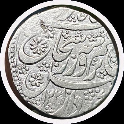 Shuja al Mulq Durrani , Kashmir mint rupee, 2nd reign